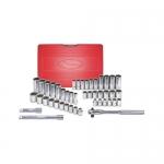 K Tool International KTI20045, Standard/Deep SAE/Metric Socket Set