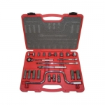 K Tool International KTI22023, 3/8in Drive, Chrome Socket Set
