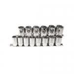 K Tool International KTI28100, 1/2in Drive, 6 Point, Metric Socket Set