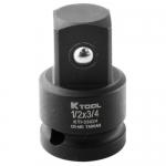 K Tool International KTI33024, 1/2F x 3/4M Male Impact Socket Adapter