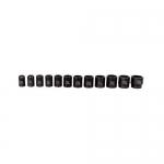 K Tool International KTI33100, SAE 6 Point, Standard Impact Socket Set