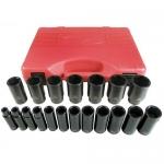 K Tool International KTI33202, 1/2″ Drive SAE Deep Impact Socket Set