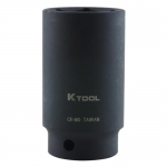 K Tool International KTI33248, Impact Socket 1/2″ Drive, Deep, 1-1/2″
