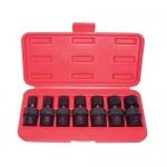 K Tool International KTI33500, 6 Point, Flex, Impact Socket Set