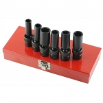 K Tool International KTI34200, 6 Point Deep Impact Socket Set