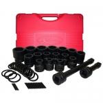 K Tool International KTI35100, Short Fractional Impact Socket Set