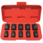 K Tool International KTI37100, 6 Point Standard Impact Socket Set