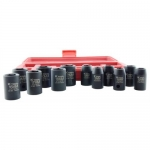 K Tool International KTI38100, Metric, Standard, Impact Socket Set