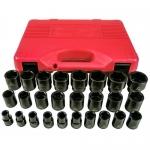 K Tool International KTI38101, 6 Point Short Impact Socket Set