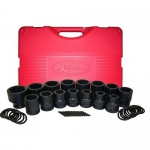 K Tool International KTI39100, Drive Short Metric Impact Socket Set