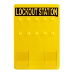 Brady LC204G, 45520 Ten Lock Station Board Only