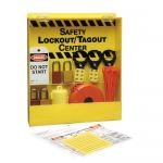 Brady LC234E, 45531 Mini Lockout Center Equipped