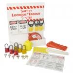 Brady LC391E, 45543 Mini Lockout Center Equipped