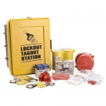 Brady LC585E, 43780 Lockout Tagout Station Equipment