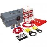 Brady LK520B, 45600 Bilingual Cable Lockout Kit