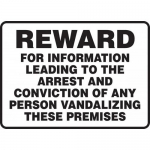 """Accuform MATR512XL, Sign """"Reward for Information Leading to The …"""""""