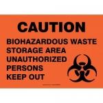"Accuform MBHZ532XF, Sign ""Biohazardous Waste Storage Area…"""