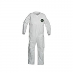 DuPont NB120SWHL25, ProShield 50 Coverall, Collar, Open Wrists