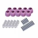 Lotos PCON40, 40-Piece Set of Nozzle Electrode & Cup