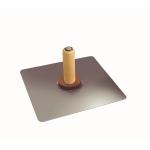 Kraft Tool Company PL260, Professional Magnesium Hawk with Wood Handle