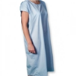 Core Products PRO-953-4X, Patient Blue Full Open Gown, 4X-Large Size