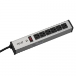 BlackBox PS166A-R2, 6-Outlet Power Strip, 15-ft. (4.5-m) Cord