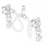 Bradley S45-2032, ADTM Air Dual Temp Metering Valve