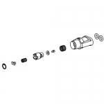 Bradley S65-253, Piston/Liner Kit TMV Shower