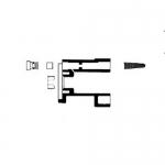 Bradley S73-019S, Service Only Assembly Kit for Column Showers