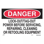 Brady SP468D, Lock-Out/Tag-Out Power Before… Sign
