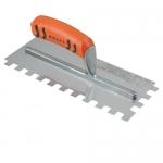 Kraft Tool Company ST404PF, Square-Notched Trowel w/ ProForm Handle