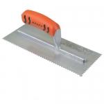Kraft Tool Company ST405PF, 1/16″ x 1/32″ x 1/32″ U-Notch Trowel
