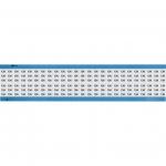 Brady WM-134-SC-PK, 113623 Wire Marker Card w/ Legend: 134