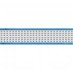 Brady WM-139-SC-PK, 113628 Wire Marker Card w/ Legend: 139