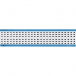 Brady WM-140-SC-PK, 113630 Wire Marker Card w/ Legend: 140