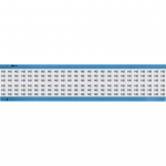Brady WM-142-SC-PK, 113632 Wire Marker Card w/ Legend: 142