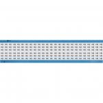 Brady WM-143-SC-PK, 113633 Wire Marker Card w/ Legend: 143