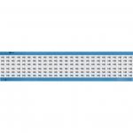 Brady WM-145-SC-PK, 113635 Wire Marker Card w/ Legend: 145