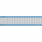 Brady WM-149-SC-PK, 113639 Wire Marker Card w/ Legend: 149