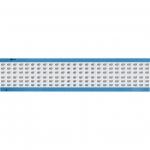 Brady WM-157-SC-PK, 113649 Wire Marker Card w/ Legend: 157
