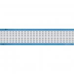 Brady WM-174-SC-PK, 113669 Wire Marker Card w/ Legend: 174