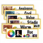 "AMEP CP1826, ""Art Display Cards-Color"" Set"