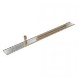 Kraft Tool Company PL400-24, 42″ Smooth Edge Magnesium Darby