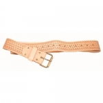 Kraft Tool Company WL099, 2″ Deluxe Leather Work Belt